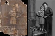 Восстановление старых фотографий 19 - kwork.ru