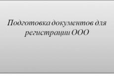 Документы для регистрации ООО 23 - kwork.ru