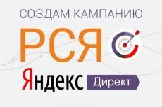 РСЯ под ключ, кампания на 20 объявлений 10 - kwork.ru