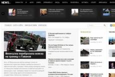 Продам автонаполняемый сайт новостной тематики . Есть демо 4 - kwork.ru