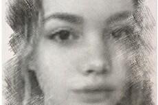 Портрет по фотографии в карандаше 21 - kwork.ru