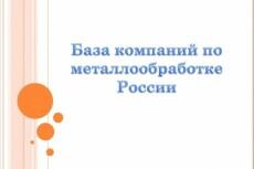 База баров России 9 - kwork.ru