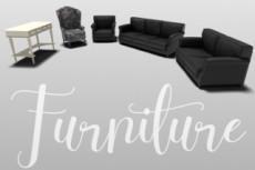 3D Модель мебели 13 - kwork.ru
