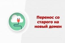 Перекину Сайт с одного домена на другой 19 - kwork.ru