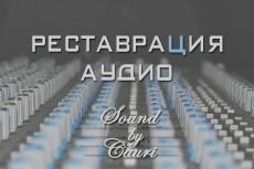 Тюнинг  вокала одного трека до 4 мин 5 - kwork.ru