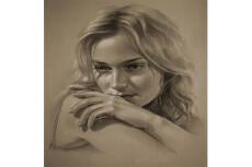 Портрет карандашом 23 - kwork.ru