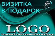 Сделаю стильный логотип 9 - kwork.ru