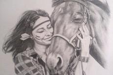 Нарисую ваш портрет или иллюстрацию 26 - kwork.ru