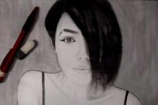 Напишу графический портрет по фотографии 14 - kwork.ru