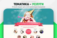 Скопировать Landing page, одностраничный сайт, посадочную страницу 224 - kwork.ru