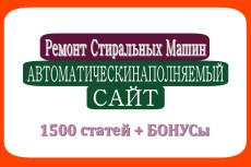 Новости и СМИ 1500 статей автонаполняемый сайт 17 - kwork.ru