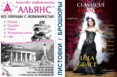 разработаю дизайн листовки 9 - kwork.ru