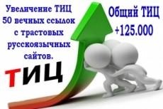 База из 1700 трастовых сайтов, громадный ТИЦ, супер предложение 9 - kwork.ru
