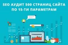 Аудит и консультация по поисковой оптимизации сайта 3 - kwork.ru
