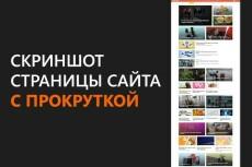 Скриншоты всей страницы и надписи на них до 20 снимков 23 - kwork.ru