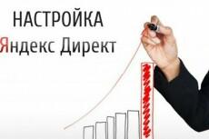 Ведение кампании в Яндекс. Директ 17 - kwork.ru
