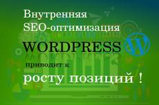 Установлю автонаполняемый блог для SEO продвижения Вашего лендинга 3 - kwork.ru