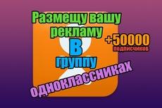 Приглашу 600 подписчиков в Вашу группу на Одноклассниках 20 - kwork.ru