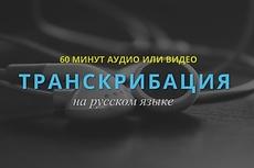 Транскрибация аудио, видео в текст 18 - kwork.ru