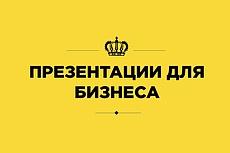 Крутые бизнес презентации 100 - kwork.ru