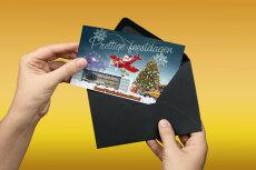 Новогодние открытки + исходники 6 - kwork.ru