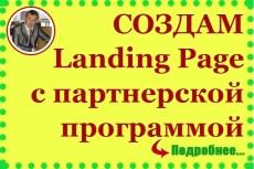 Скопирую любой лендинг и перенесу (натяну) на движок cPortfolio-CMS 4 - kwork.ru