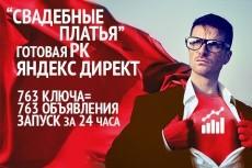 Безанкорный прогон с мини статьей 5 - kwork.ru