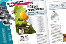 Сверстаю книгу, журнал, брошюру 8 - kwork.ru