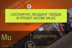 Коллекция из 515 виджетов для Adobe Muse 3 - kwork.ru