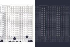 Выделение этажей (подъездов, корпусов) на рендере 14 - kwork.ru