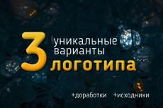Дизайн логотипа 55 - kwork.ru