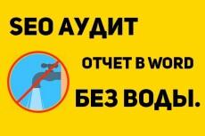 Красочный отчет по SEO для клиентов 19 - kwork.ru