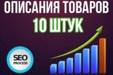 Напишу описания товаров для СРА-партнерок 19 - kwork.ru