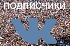 Продвижение вашей группы Вк +222 подписчика + 111 лайков +77 репостов 13 - kwork.ru