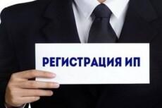 Составление заявление на регистрацию ИП 15 - kwork.ru