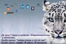 Доработаю или поправлю верстку Вашего сайта 76 - kwork.ru