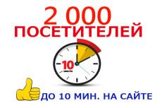 Качественный нарастающий трафик в течение 60 дней. ГЕО бесплатно 2 - kwork.ru