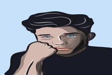Нарисую ваш портрет в стиле комикса 16 - kwork.ru