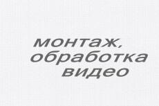 Монтаж и обработка видео для Youtube, Instagram 11 - kwork.ru