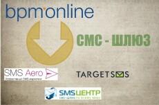 Интеграция bpmonline 7.x + SMS-Центр 3 - kwork.ru