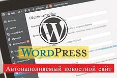 Автонаполняемый новостной сайт - World News - на WordPress 2 - kwork.ru