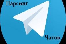 База чатов Telegram, криптовалюта 6 - kwork.ru