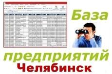 База предприятий Новосибирска для обзвона и рассылок 12 - kwork.ru