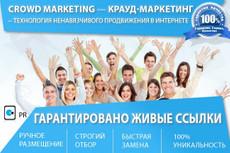 Крауд маркетинг - 20 ссылок на форумах 22 - kwork.ru