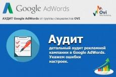 Оптимизирую рекламные кампании в Google AdWords 16 - kwork.ru
