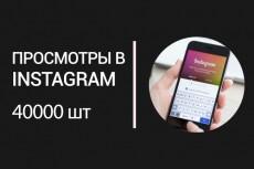 40000 просмотров в Instagram быстрое выполнение. Менее суток 11 - kwork.ru