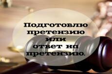 Подготовлю, а также проведу экспертизу любого договора 16 - kwork.ru