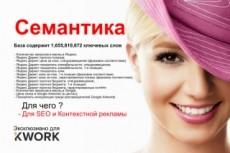 Готовое семантическое ядро для Вашего сайта под Яндекс Директ 9 - kwork.ru
