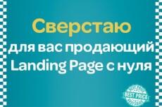 Скопирую любой Landing Page и настрою его 3 - kwork.ru