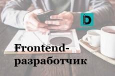 Верстка из PSD в HTML+CSS 39 - kwork.ru